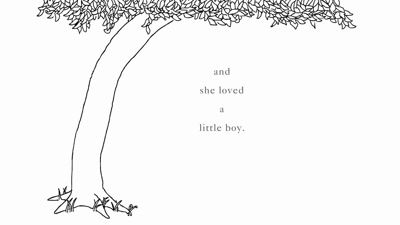 The Giving Tree Printable Coloring Page Pages Ideas